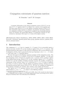 Conjugation coinvariants of quantum matrices