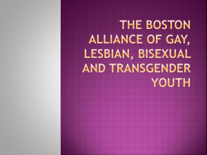 The Boston Alliance of Gay, Lesbian, Bisexual and Transgender Youth