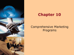 Comprehensive Marketing Programs
