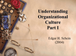 ADLT 623 Understanding Org Culture Part I