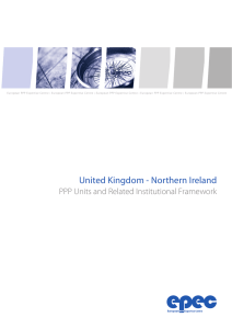 United Kingdom – Northern Ireland: PPP Units and Related