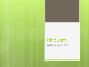 Hinduism - World Geography
