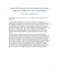 Limits and Lessons from the Living Systems