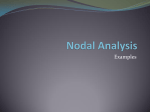 Examples of Nodal Analysis