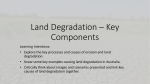 Land Degradation * Key Components