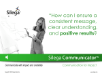 """How can I ensure a consistent message, clear understanding, and"