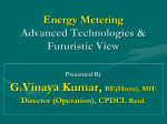 Energy Metering – Advanced Technologies