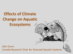 Effects of Climate Change on Aquatic Ecosystems