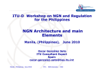 NGN Architecture and main Elements
