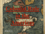 2. Colonial Rule in the Americas notes