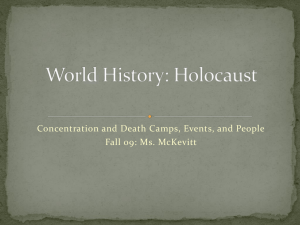 World History: Holocaust