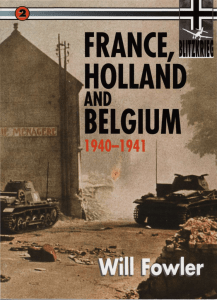 Blitzkrieg (2) - France, Holland and Belgium