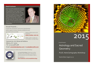 Astrology and Sacred Geometry