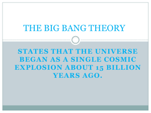 Then another Big Bang will occur and the