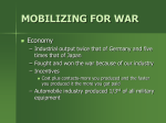 mobilizing for war - Marmaton Valley Schools