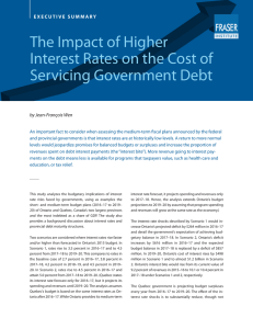 The Impact of Higher Interest Rates on the Cost of