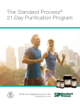 The Standard Process® 21-Day Purification Program