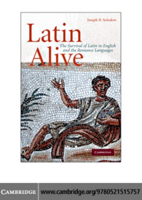 Aetas Carta Da Parati.Latin Alive The Survival Of Latin In English And The Romance Languages