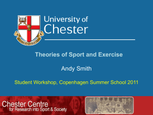 Theories of Sport and Exercise