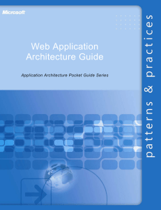 Web Application Architecture Guide