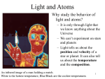 Chapter 3 Light and Atoms