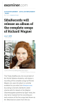 SibaRecords will release an album of the complete songs of Richard