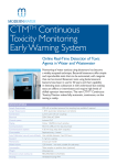 CTMTM Continuous Toxicity Monitoring Early