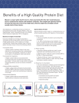 Benefits of a High Quality Protein Diet