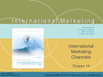international marketing channels