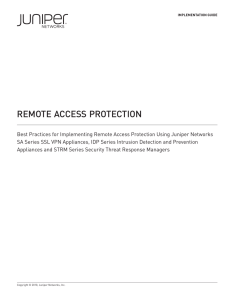Remote Access Protection