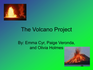 The Volcano Project