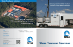water treatment solutions - TETRA Technologies, Inc.