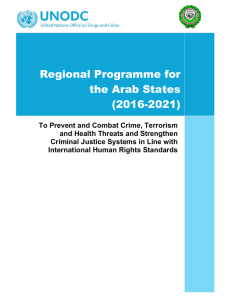 Regional Programme for the Arab States