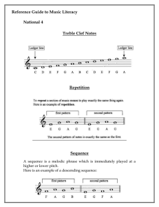 Reference Guide to Music Literacy