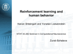 Reinforcement learning and human behavior