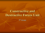 Constructive and Destructive Forces Unit