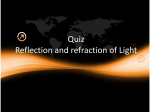 Quiz on Reflection of Light