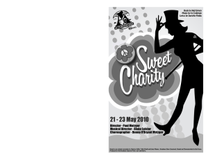 Sweet Charity Program.pmd