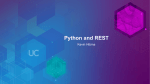 Python and REST