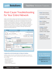 Root-Cause Troubleshooting for Your Entire Network