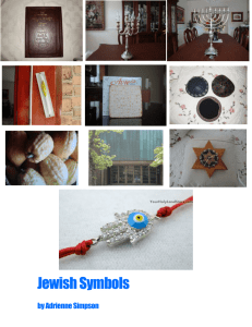 Jewish Symbols - Welcome to The Manhattan New School Projects