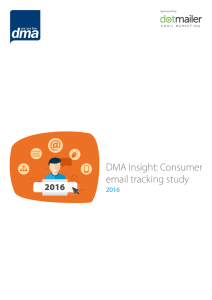 DMA Insight: Consumer email tracking study 2016