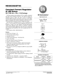 NSI50350AD - Constant Current Regulator and LED Driver