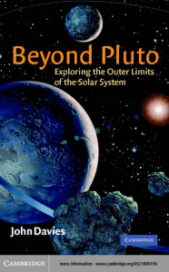 Beyond Pluto: Exploring the outer limits of the solar - e