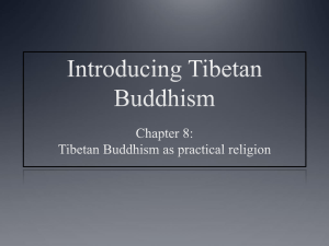 Tibetan Buddhism as practical religion