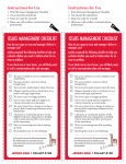 issues management checklist issues management checklist