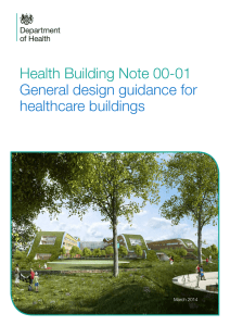 Health Building Note 00-01: General design