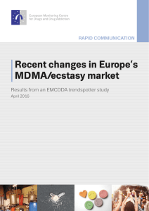 Recent changes in Europe`s MDMA/ecstasy market