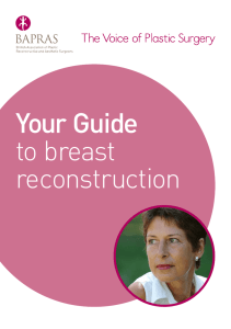 Your Guide to breast reconstruction