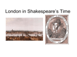 London and Shakespeare